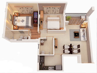 Bagaria Pravesh 2BHK Flats in BT Road