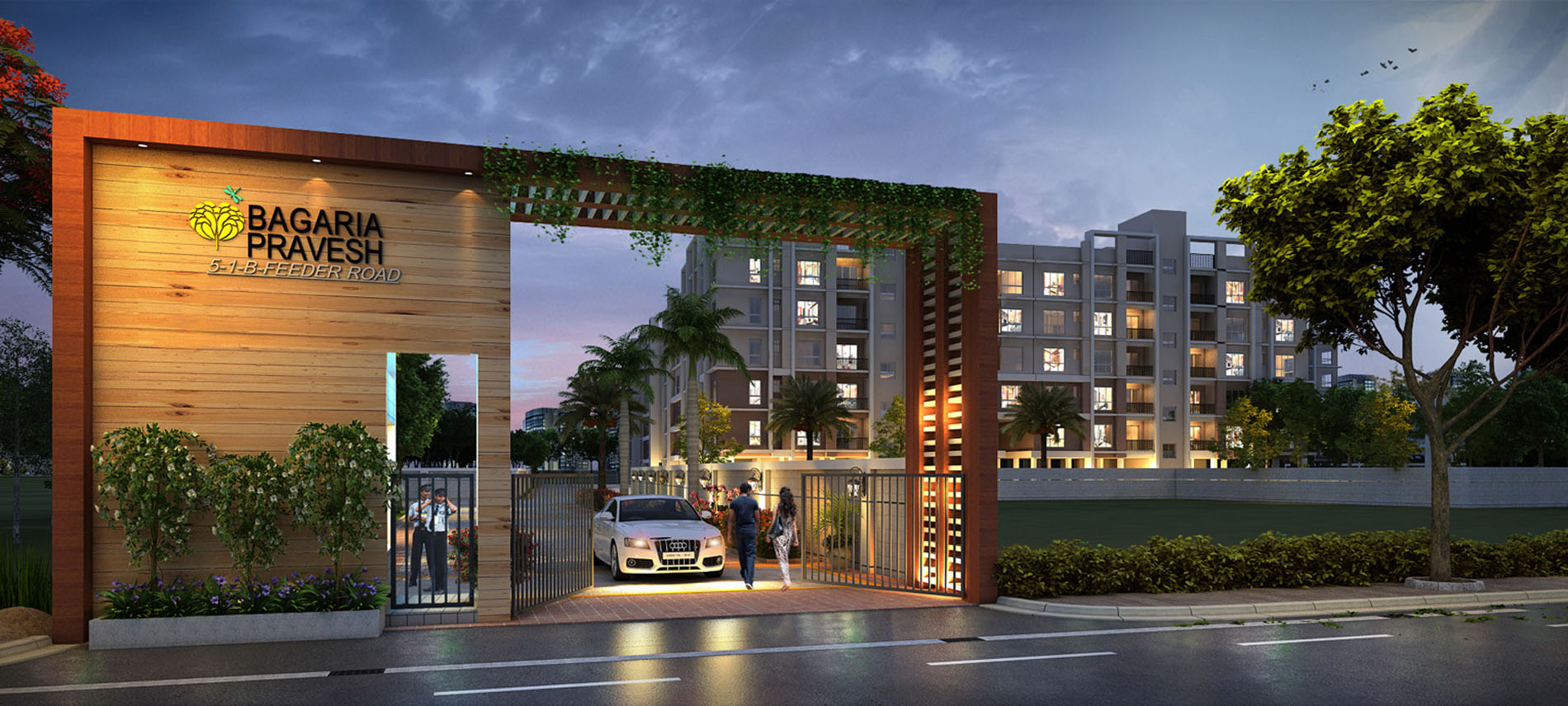 Buy 2 BHK Apartments Residential Complex on BT Road